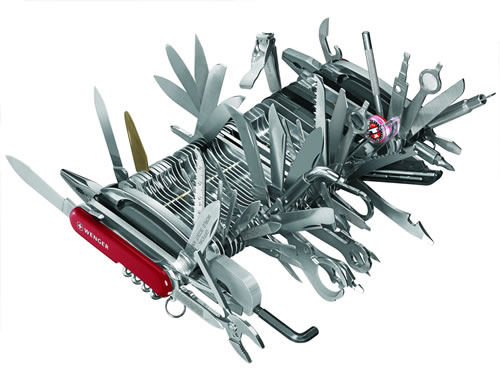 The Mega Swiss Army Knife