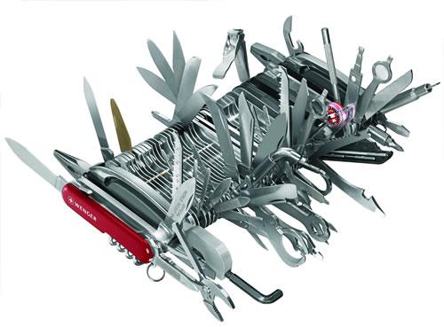 The Mega Swiss Army Knife